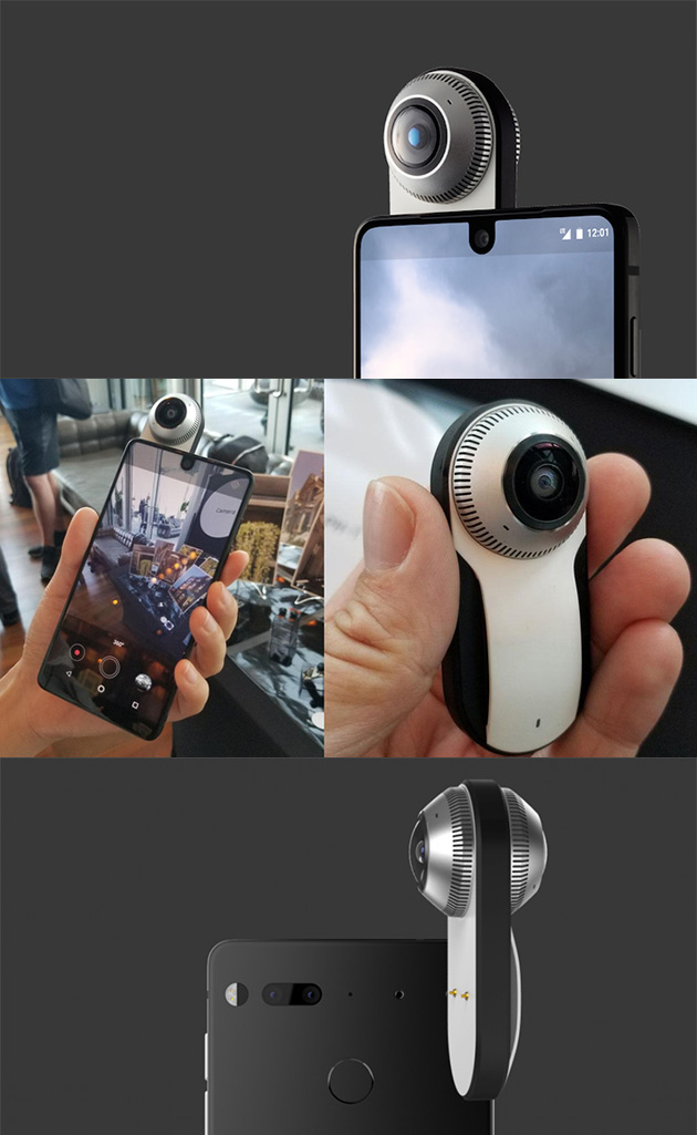 Essential Phone 360-Degree Camera