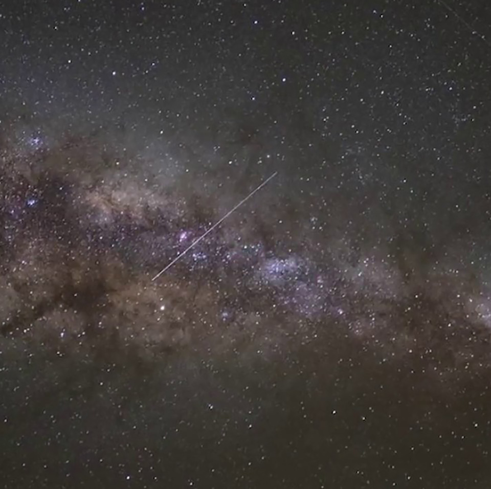 Eta Aquarids Meteor Shower 2019