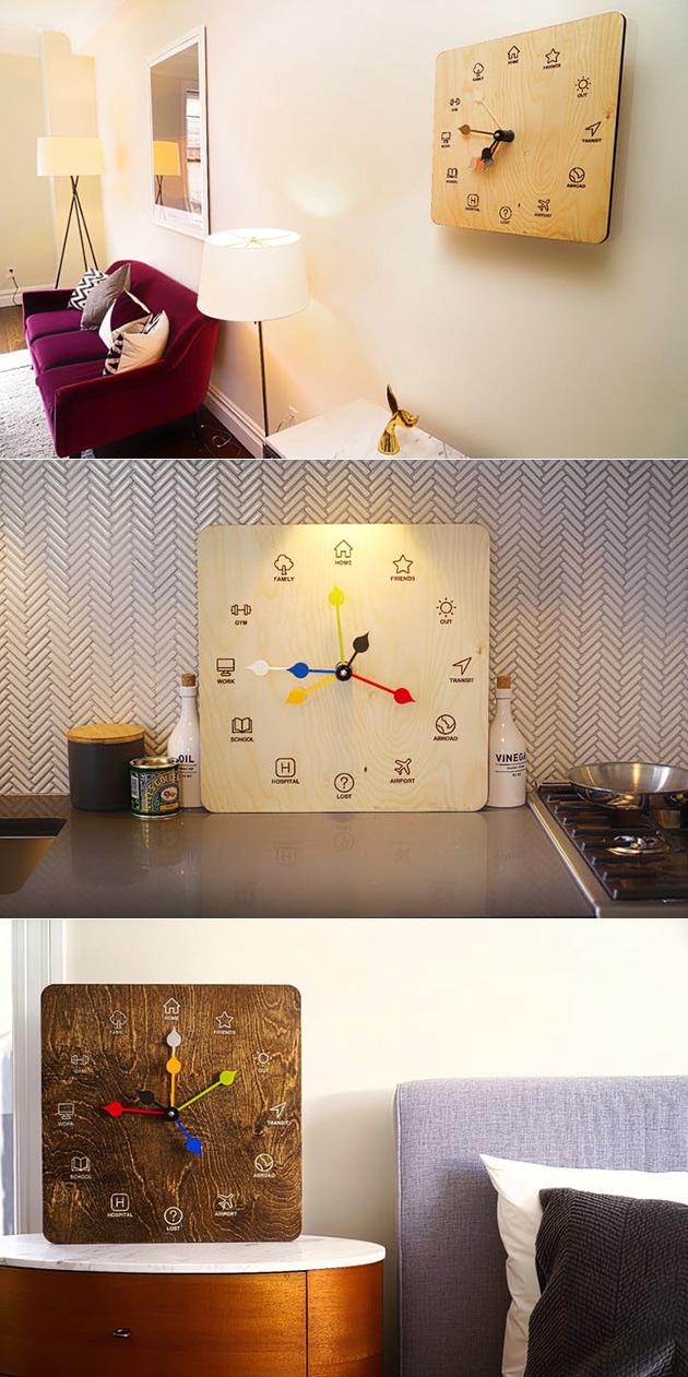 ETA Clock