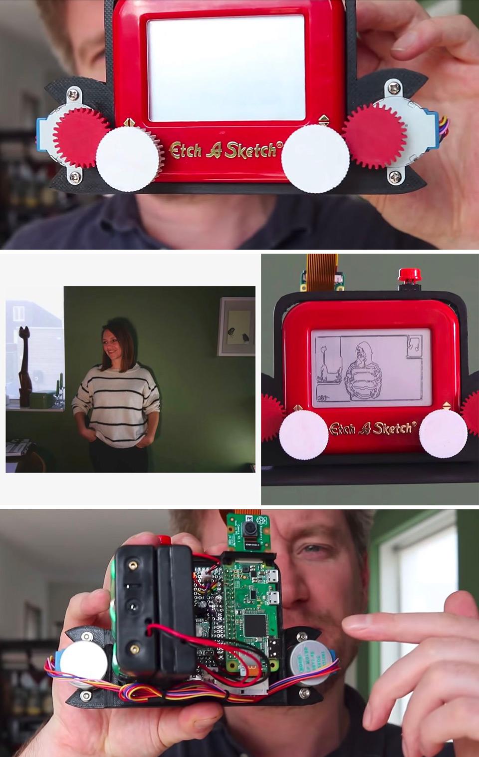 Etch-A-Sketch Camera