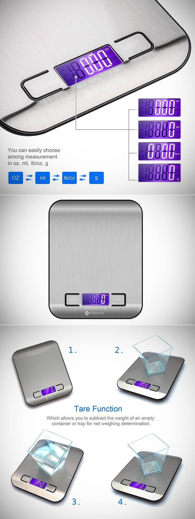 Etekcity Kitchen Scale