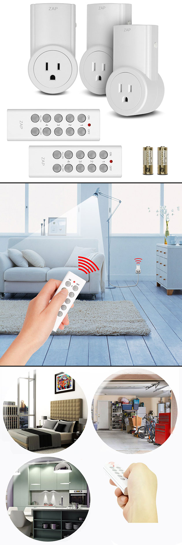Etekcity Wireless Electrical Outlet