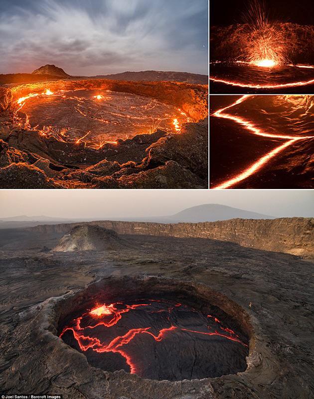 Etra Ale Volcano Lava Lake