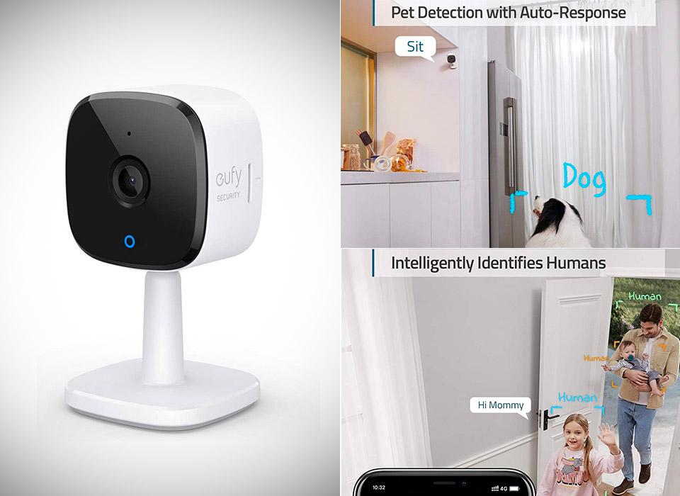 Eufy Security 2K Indoor WiFi Cam