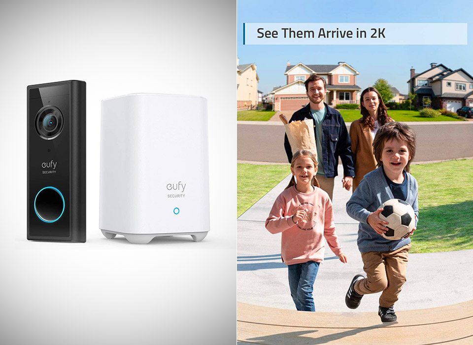 eufy Security 2K Video Doorbell