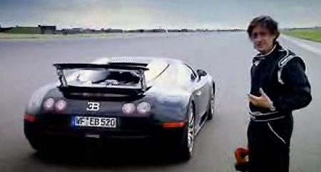top gear richard hammond pits bugatti veyron against jet. Black Bedroom Furniture Sets. Home Design Ideas