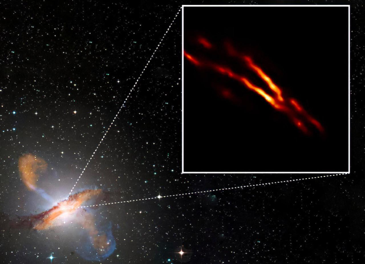 Event Horizon Telescope Black Hole Jet Centaurus A