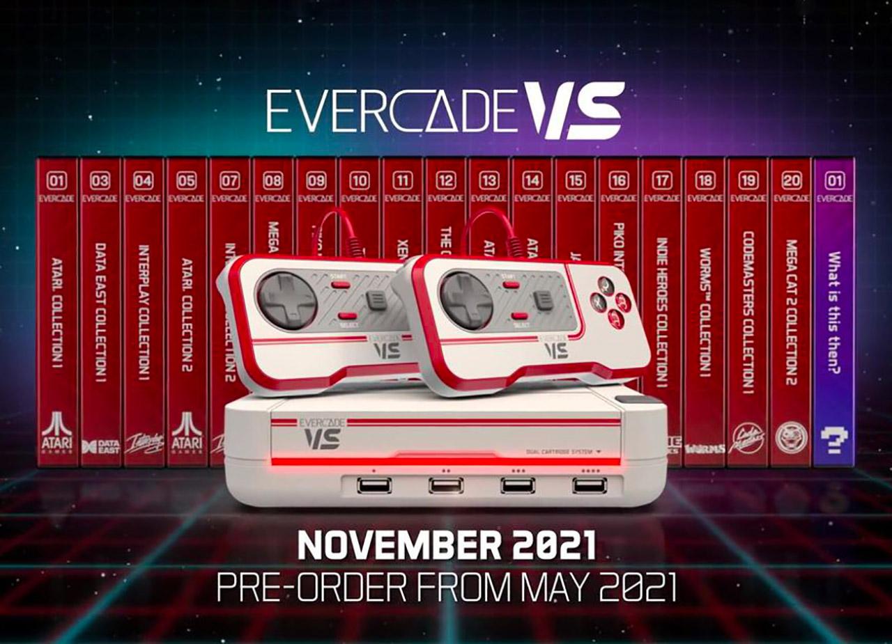 Evercade VS Retrogaming Game Console
