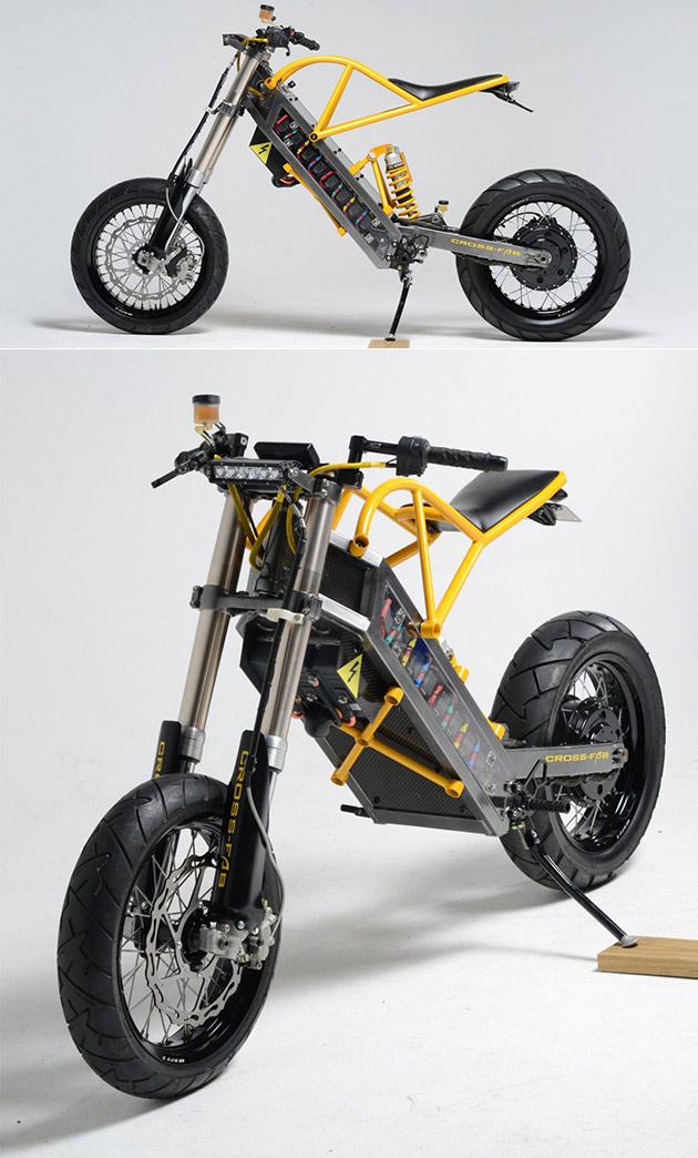 Chirurgien orthop diste construit la moto lectrique la maison il lire on appelle la exodyne - La maison de la moto ...