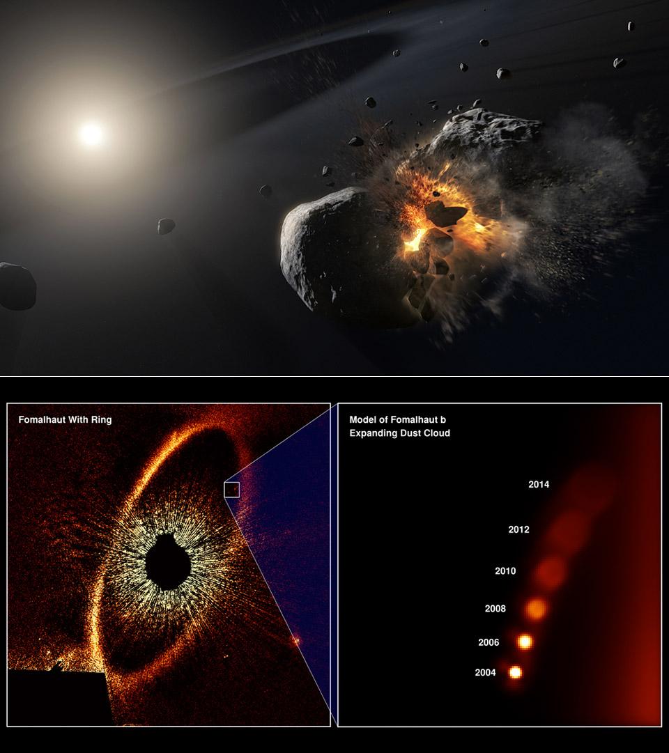 Exoplanet Fomalhaut b Hubble