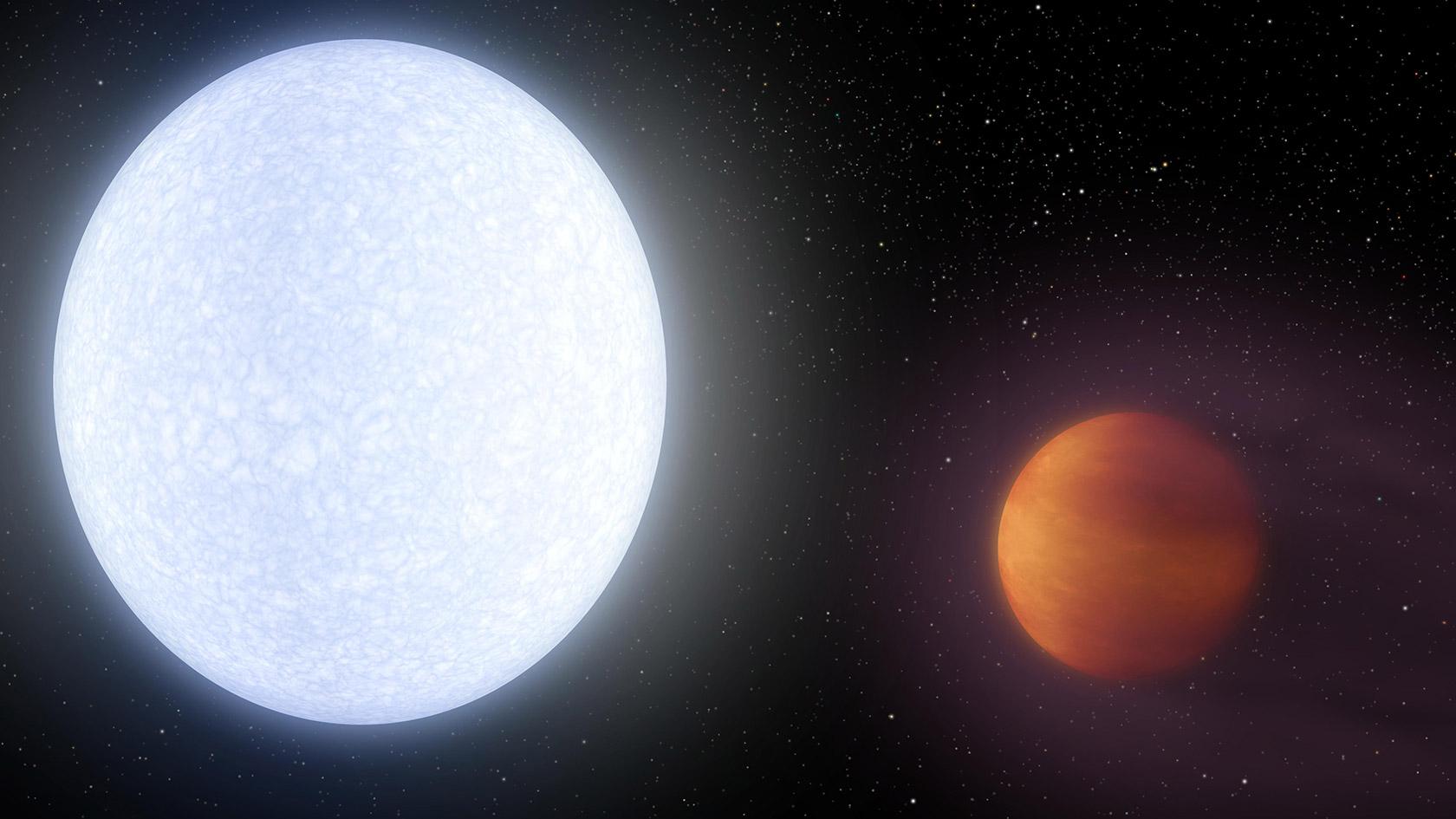 Exoplanet Kelt-9b Atmosphere Molecule