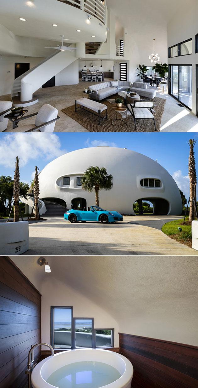 Eye of the Storm Hurricane Proof House