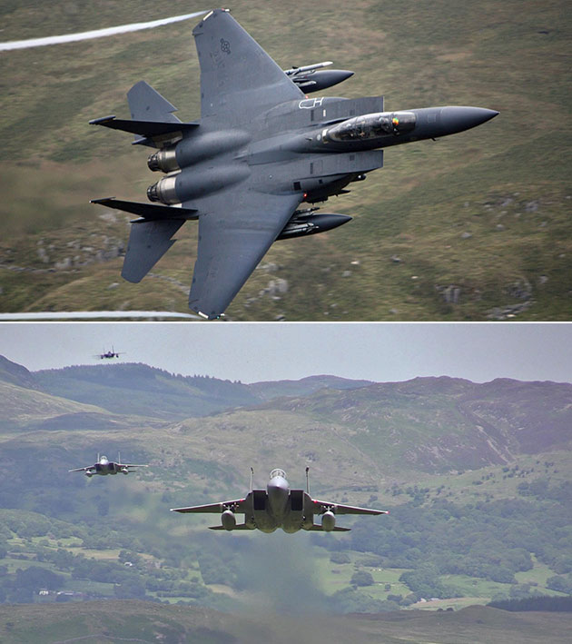 F-15E Mach Loop