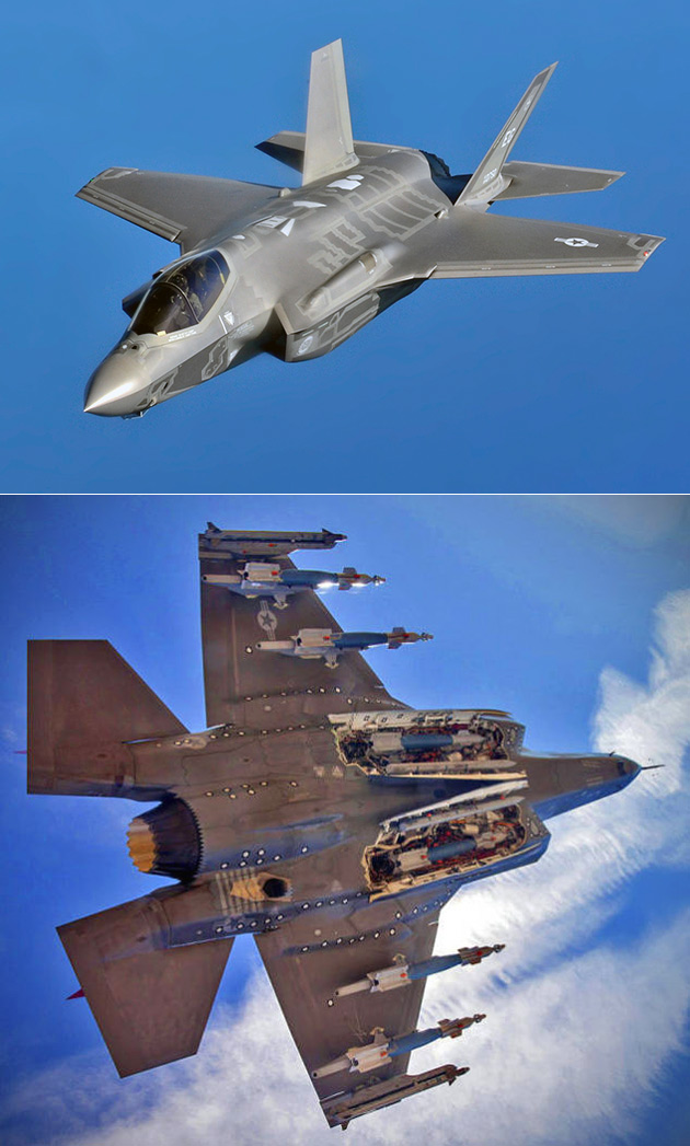 F-35 Weapons Bay