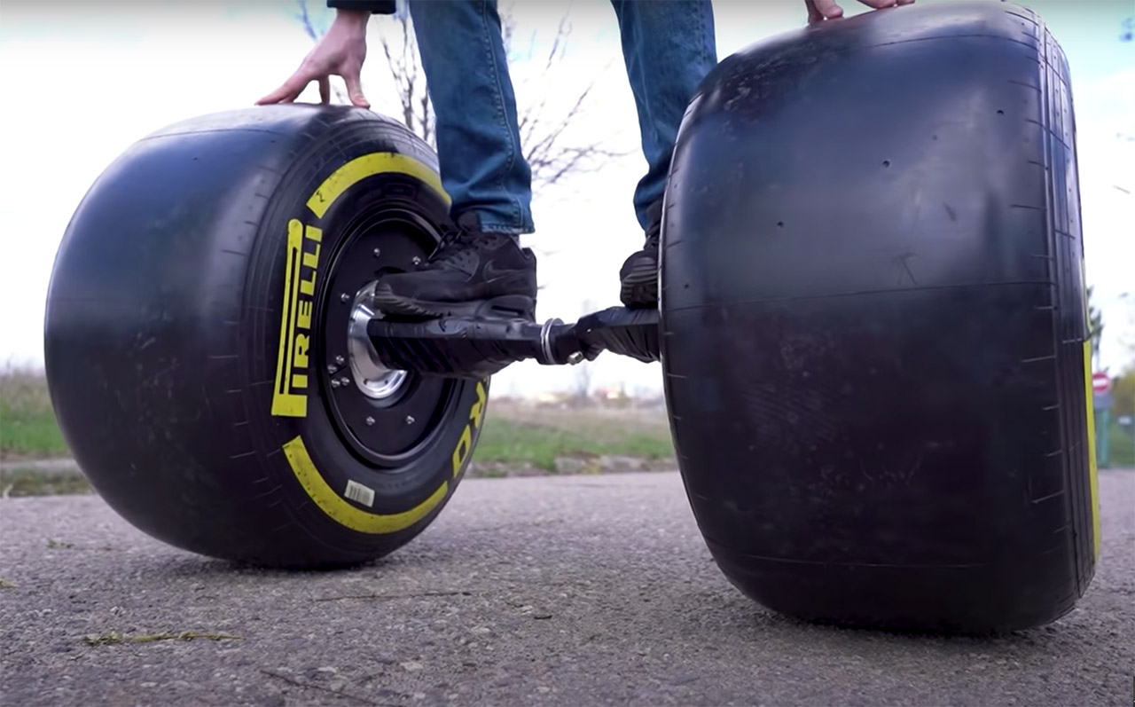 F1 Wheels Hoverboard