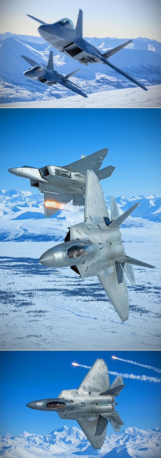F-22 Raptor Arctic