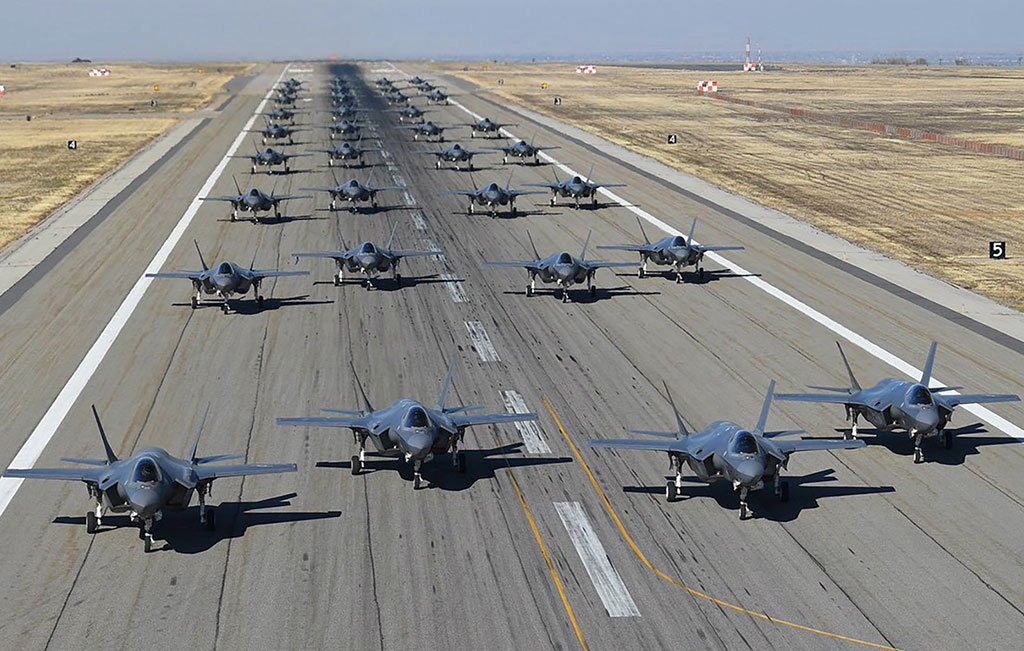 F-35 Fighter Jets Group Photo