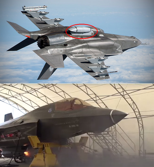 F-35B Fighter Jet Fires Gun Pod While Flying for the First Time