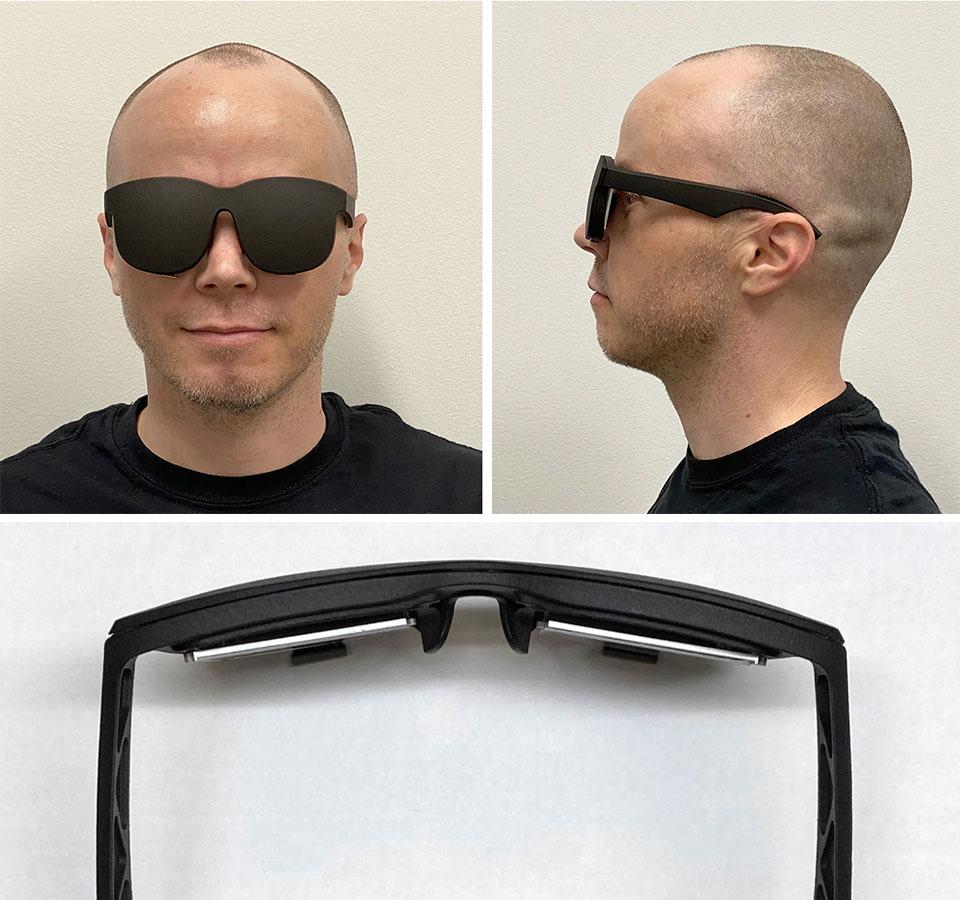 Facebook Holographic VR Glasses