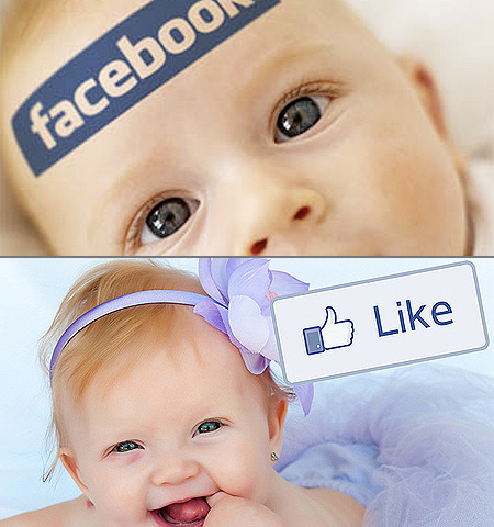 Facebook Baby Images on Couple Names Their Baby  Like  After Facebook Button   Techeblog
