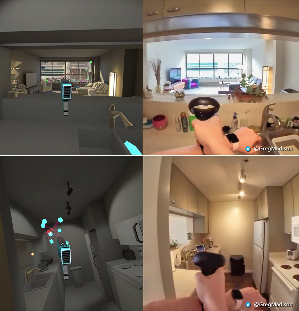 Facebook Oculus Quest Apartment Game