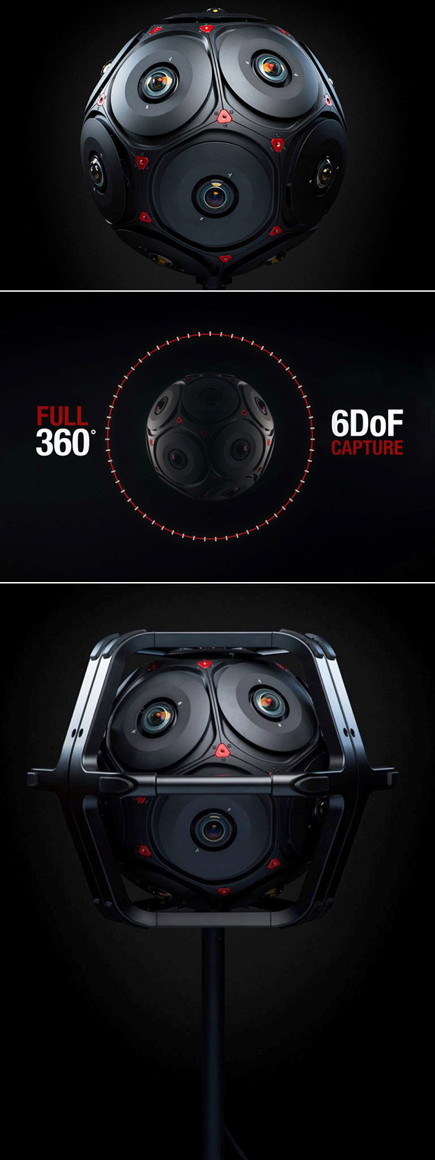 Facebook RED Manifold 360 Camera