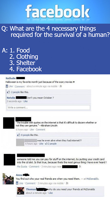 Things You Should Never Say On Facebook
