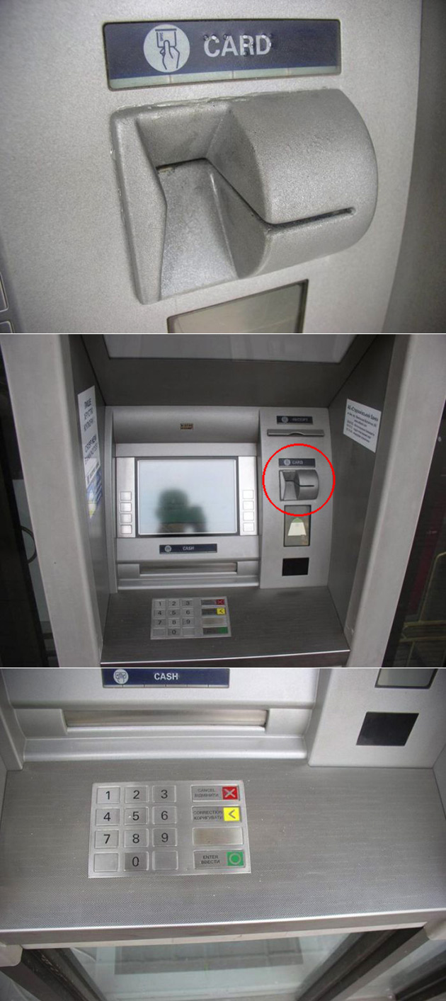 Fake ATM Front