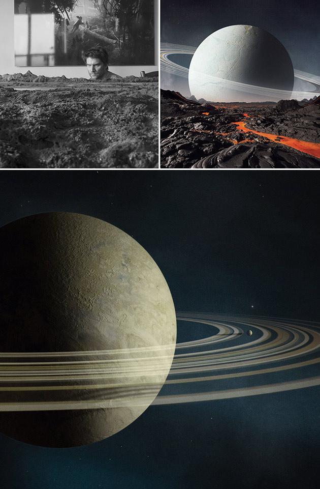 Fake Planet Photo
