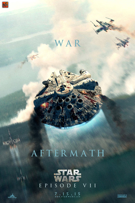 10 awesome fanmade star wars episode vii movie posters