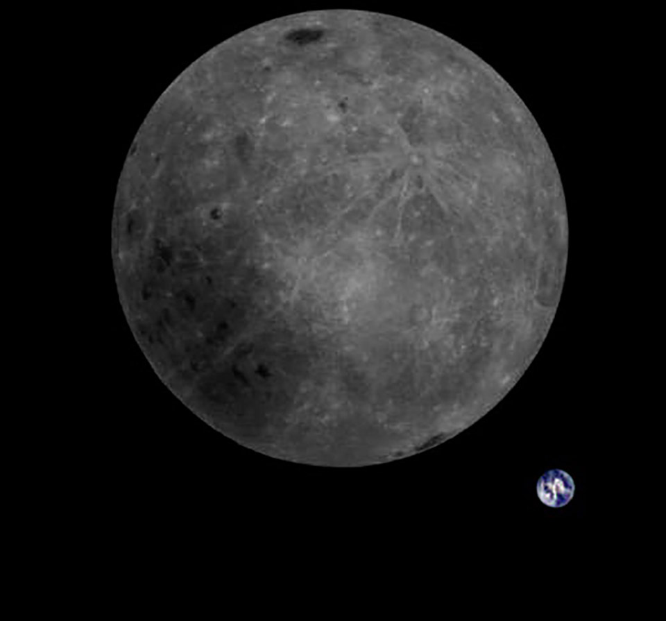 Far Side Moon Earth Photo