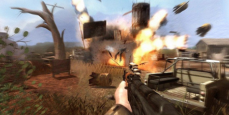 Video Incredible Far Cry 2 Tech Demos Dunia Engine Techeblog