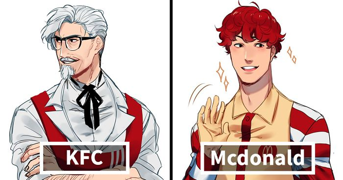 Fast Food Anime Characters