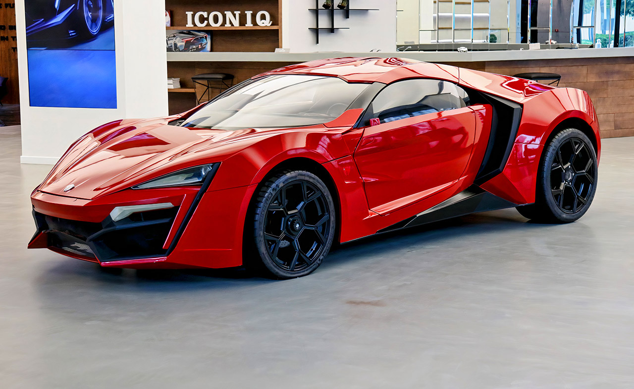 Fast Furious Lykan Hypersport NFT