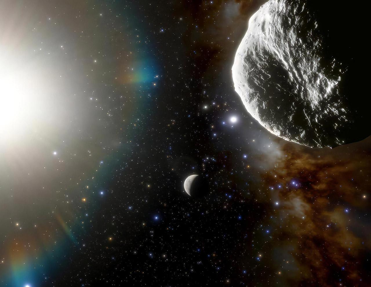 Fastest Asteroid Earth Solar System Dark Energy Camera