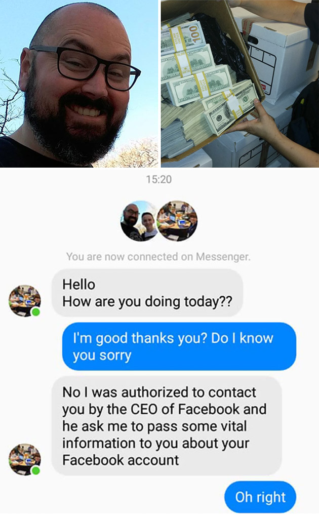 FB Winner Scam