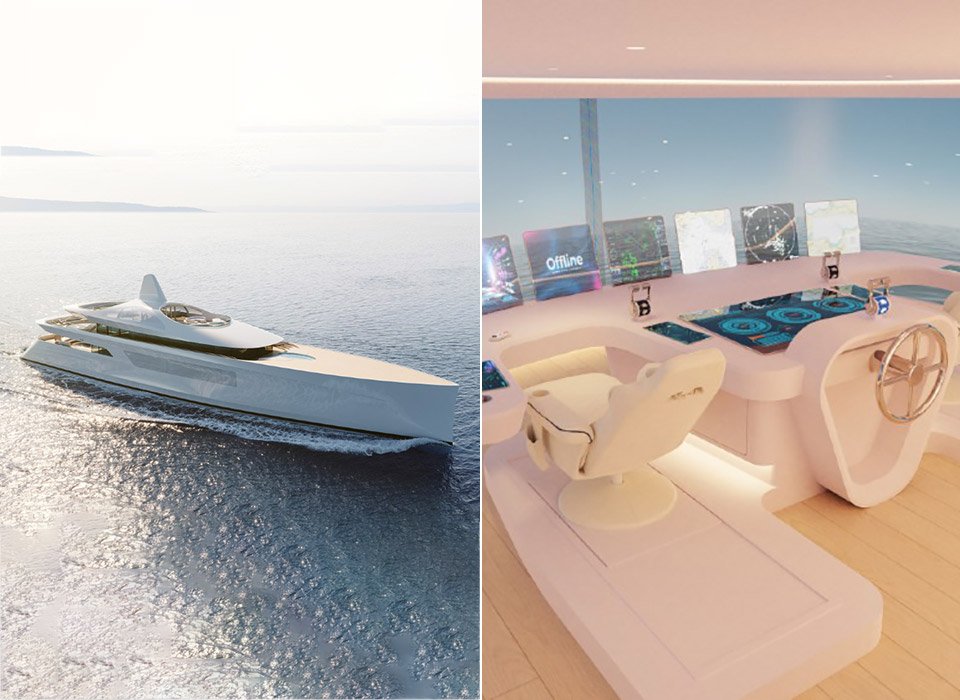 Feadship Pure Superyacht Augmented Reality