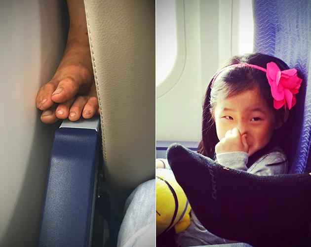 Feet Airplane Flight