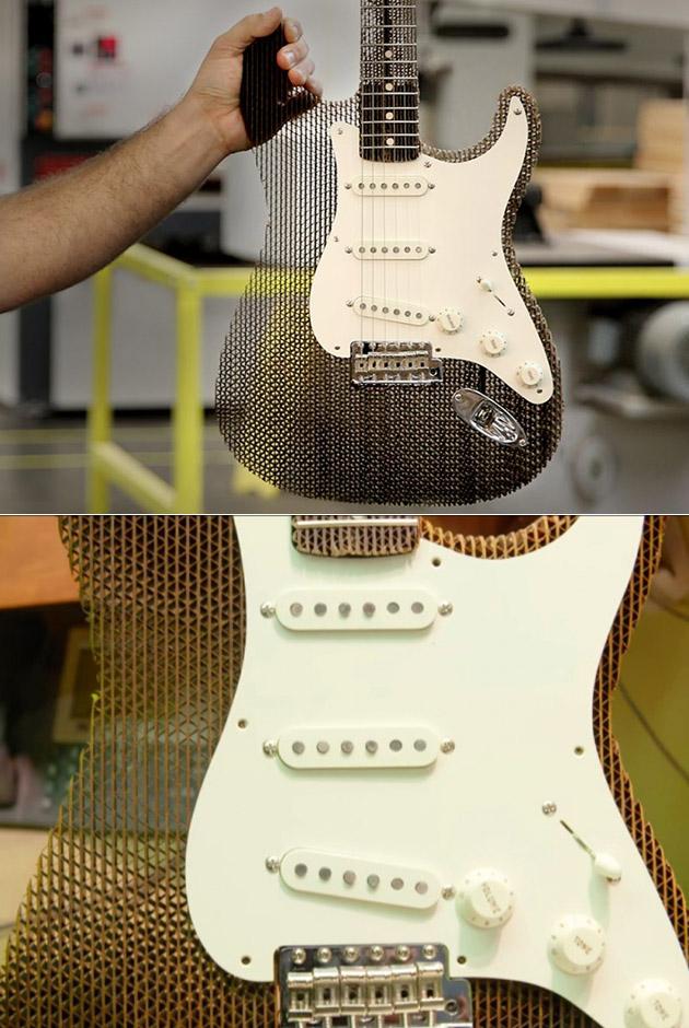 Fender Cardboard Guitar
