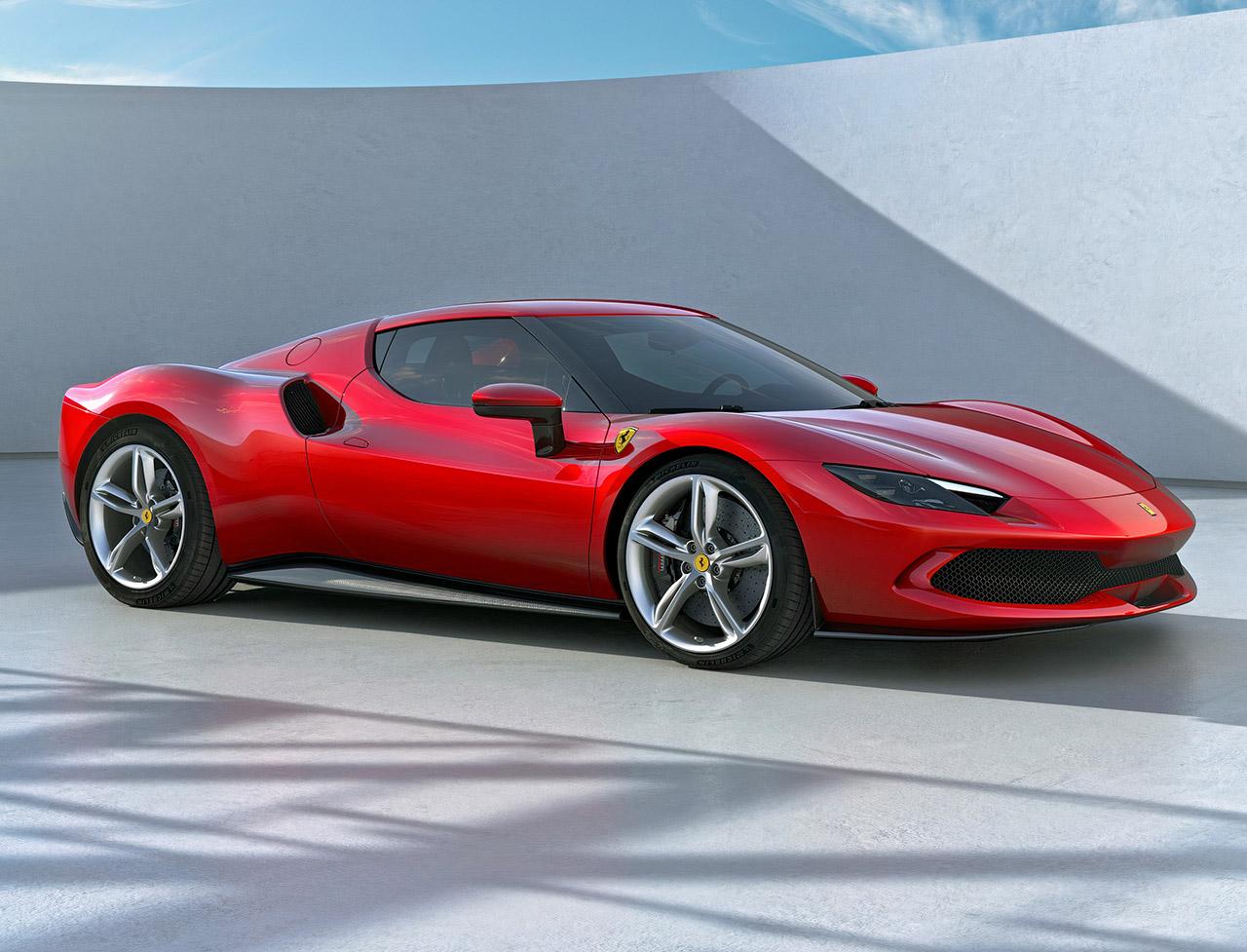 Ferrari 296 GTB Plug-in Hybrid Supercar