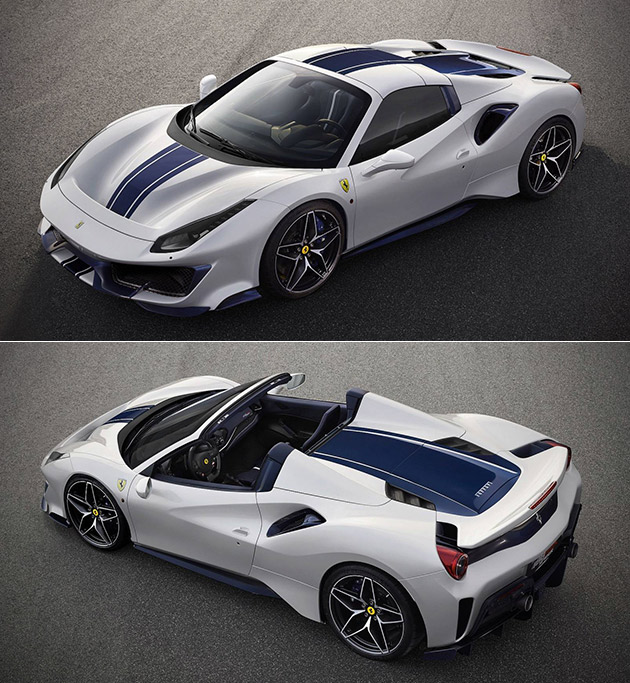 Ferrari 488 Spider: Ferrari 488 Pista Spider Makes Unexpected Debut In