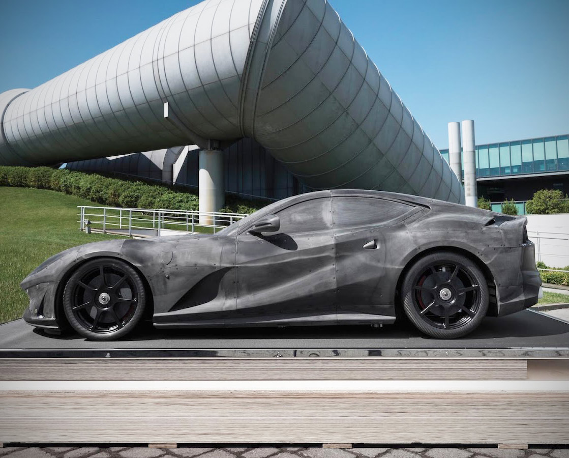 Ferrari 812 Superfast Wind Tunnel
