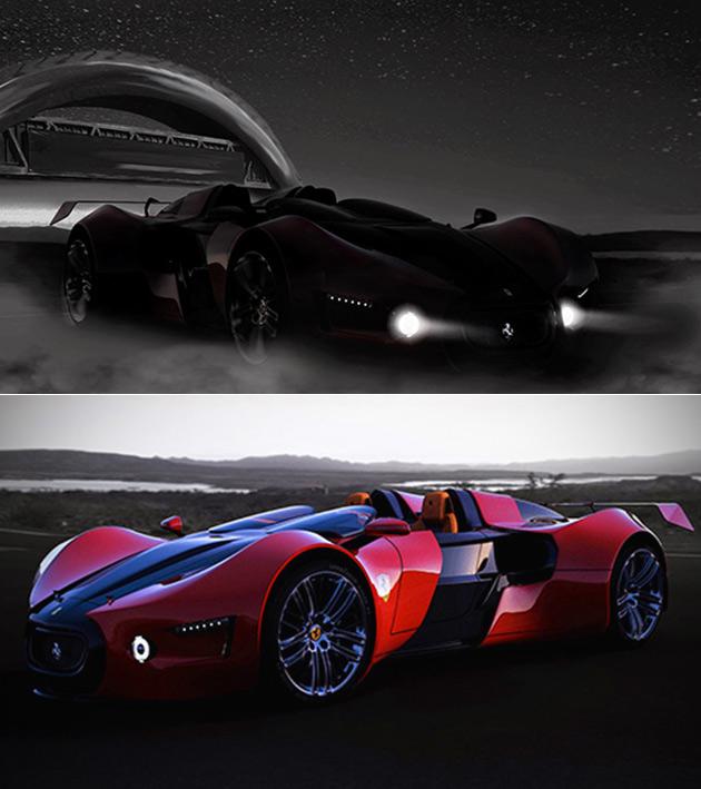 Ferrari Bugatti