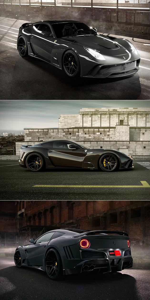 Ferrari F12 N Largo S Is Powered By 781 Horsepower V12 Engine