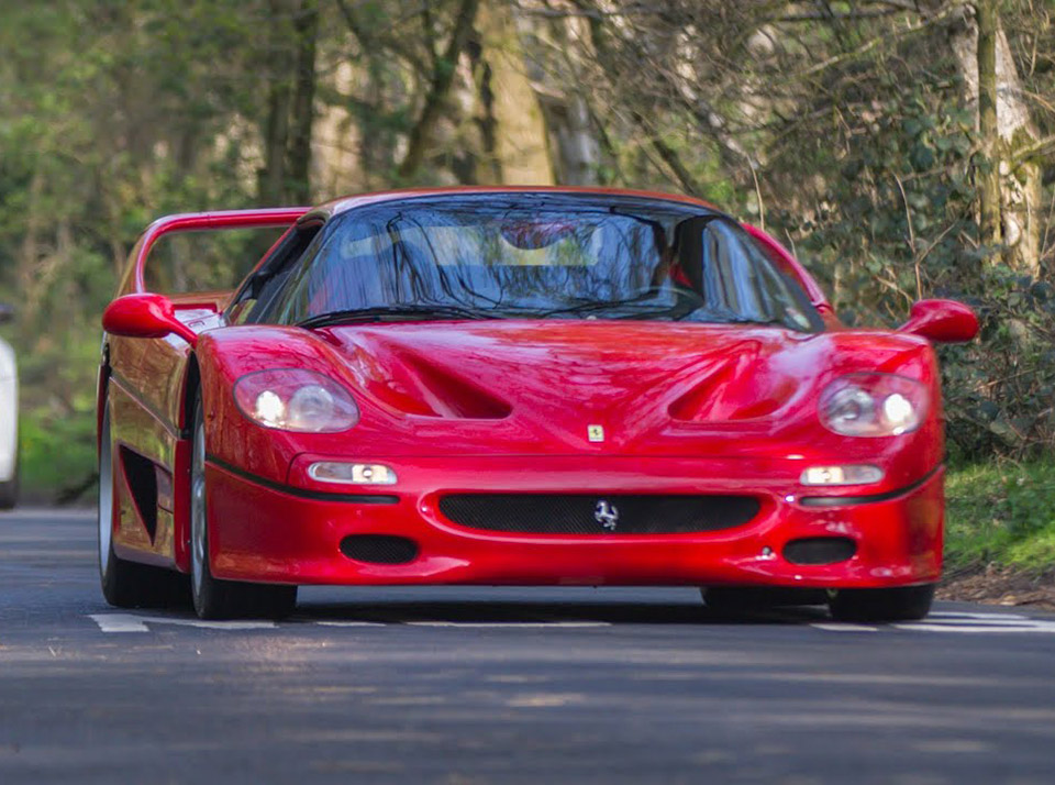 Ferrari F50 Test Drive Review