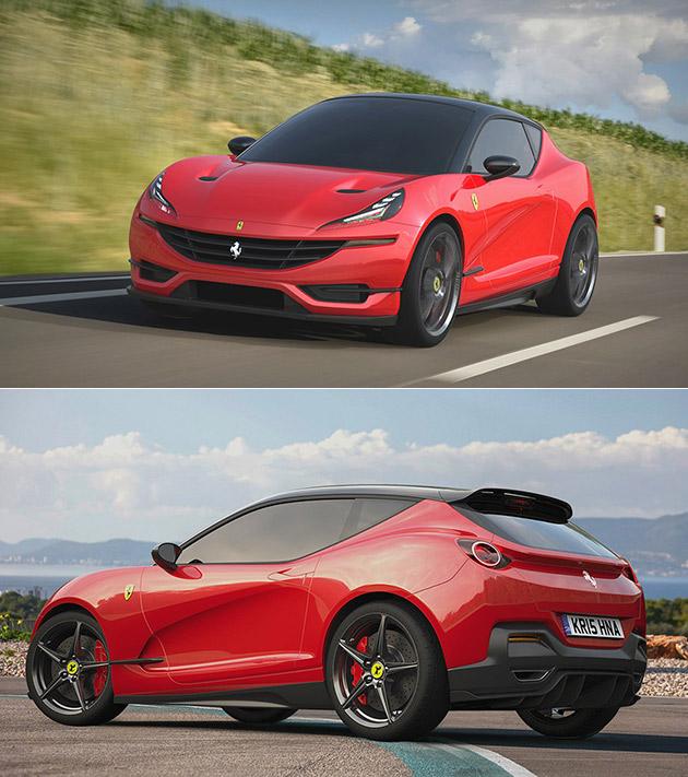 Ferrari Hatchback