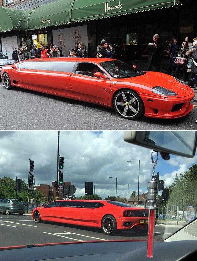 Ferrari Limousine Red