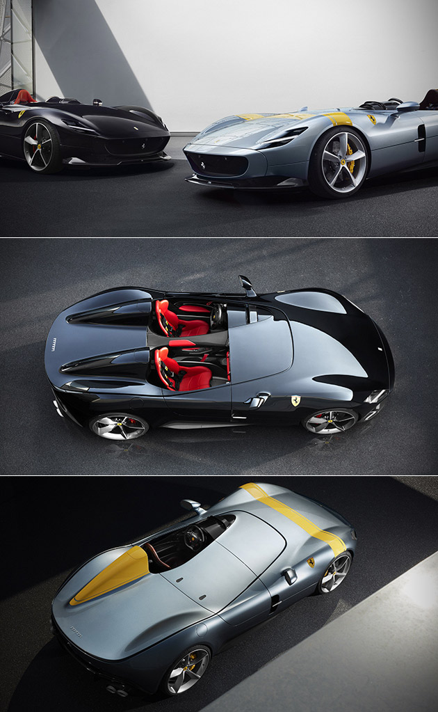 Ferrari Monza Sp1 And Sp2 Officially Unveiled Come