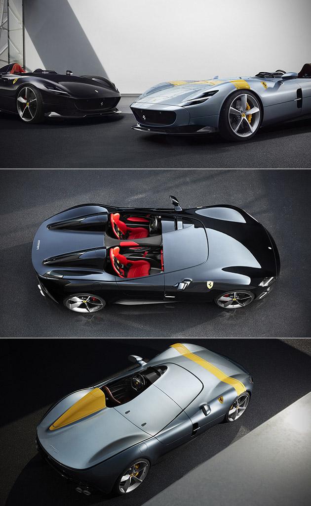 Ferrari Monza SP1 SP2