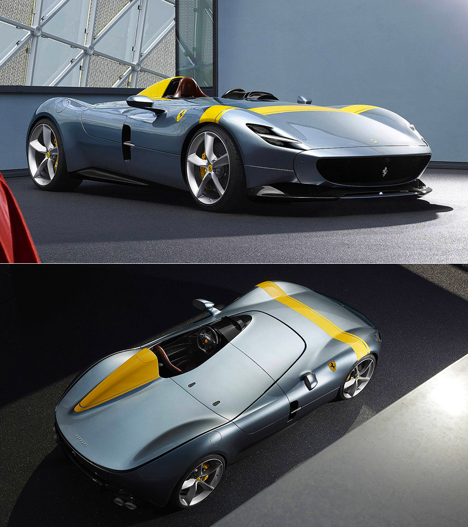 Ferrari Monza SP1 Test Drive